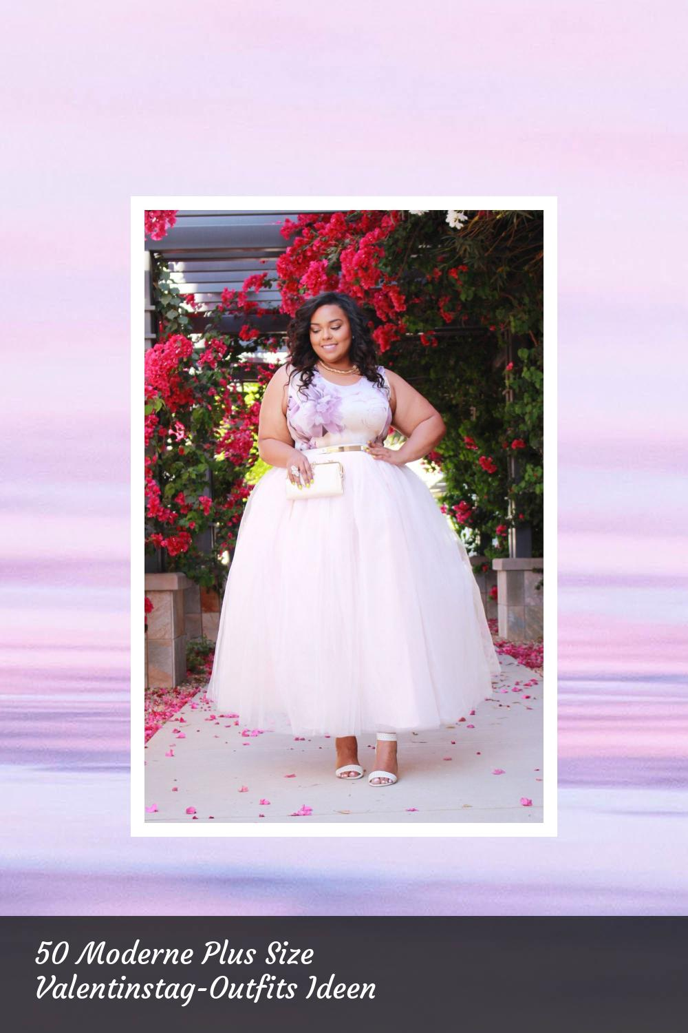 50 Moderne Plus Size Valentinstag-Outfits Ideen 10