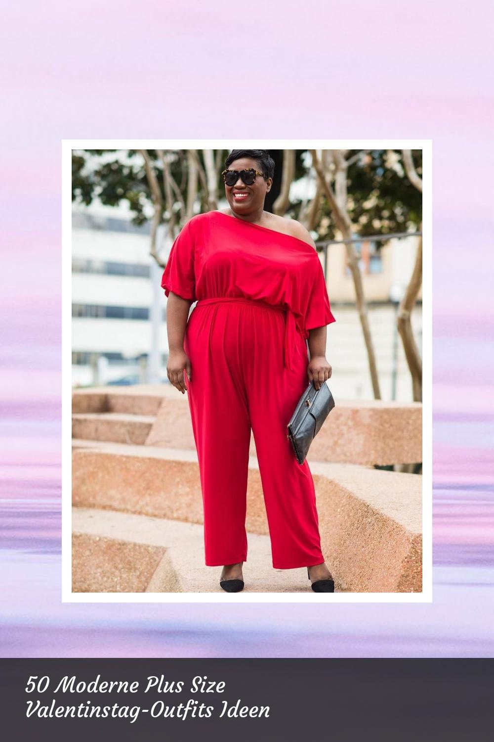 50 Moderne Plus Size Valentinstag-Outfits Ideen 12