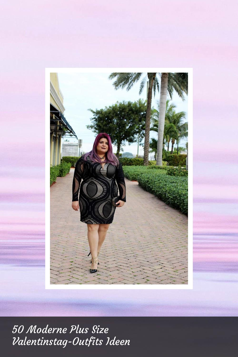 50 Moderne Plus Size Valentinstag-Outfits Ideen 13