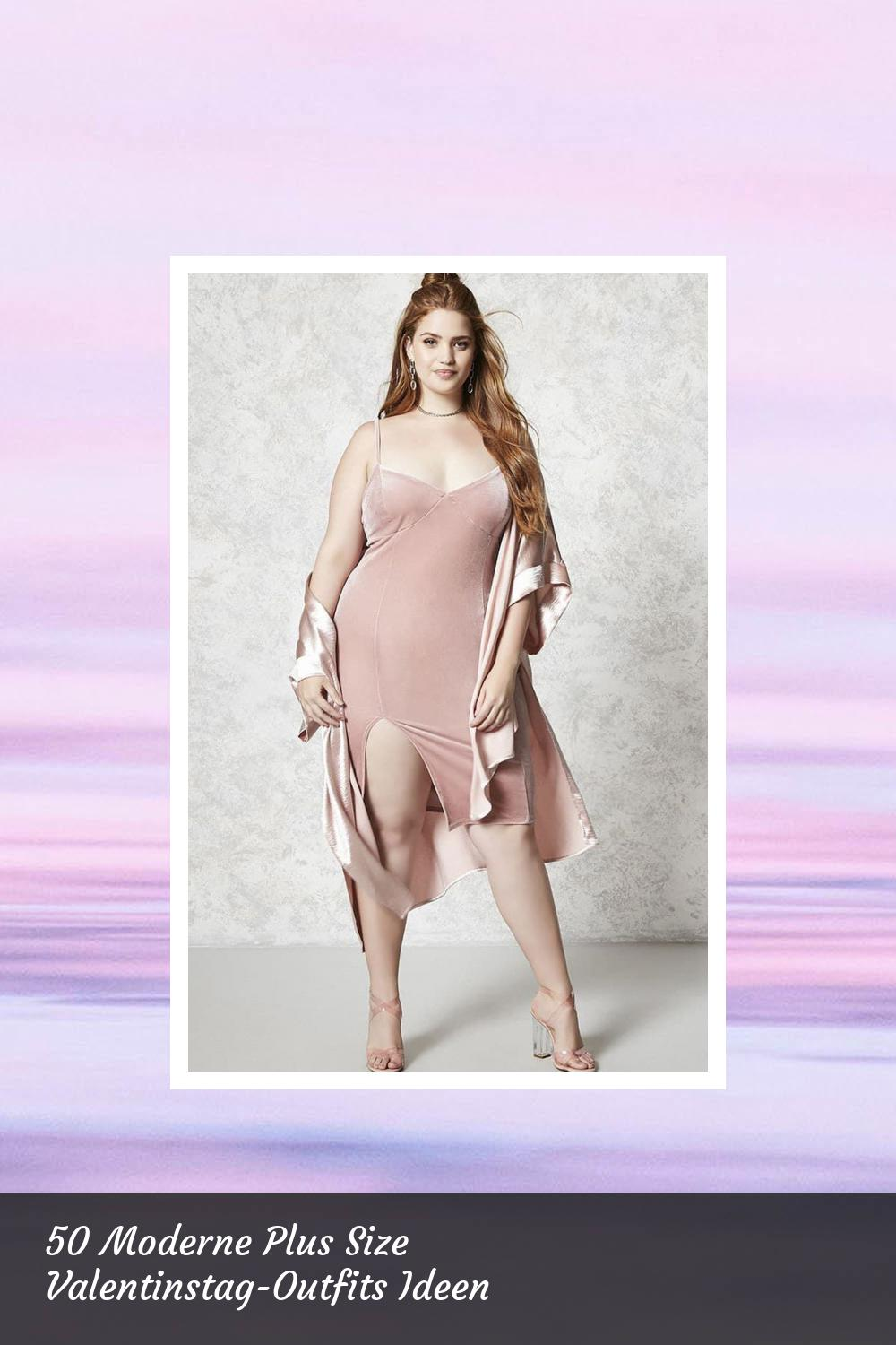 50 Moderne Plus Size Valentinstag-Outfits Ideen 2