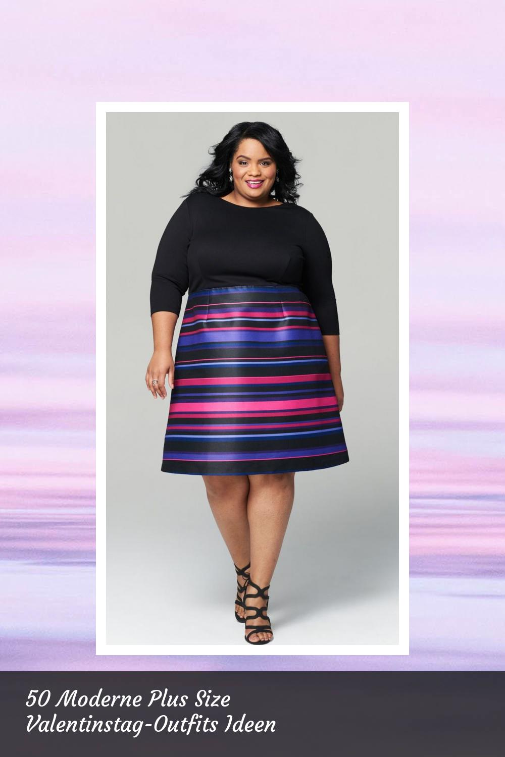 50 Moderne Plus Size Valentinstag-Outfits Ideen 21