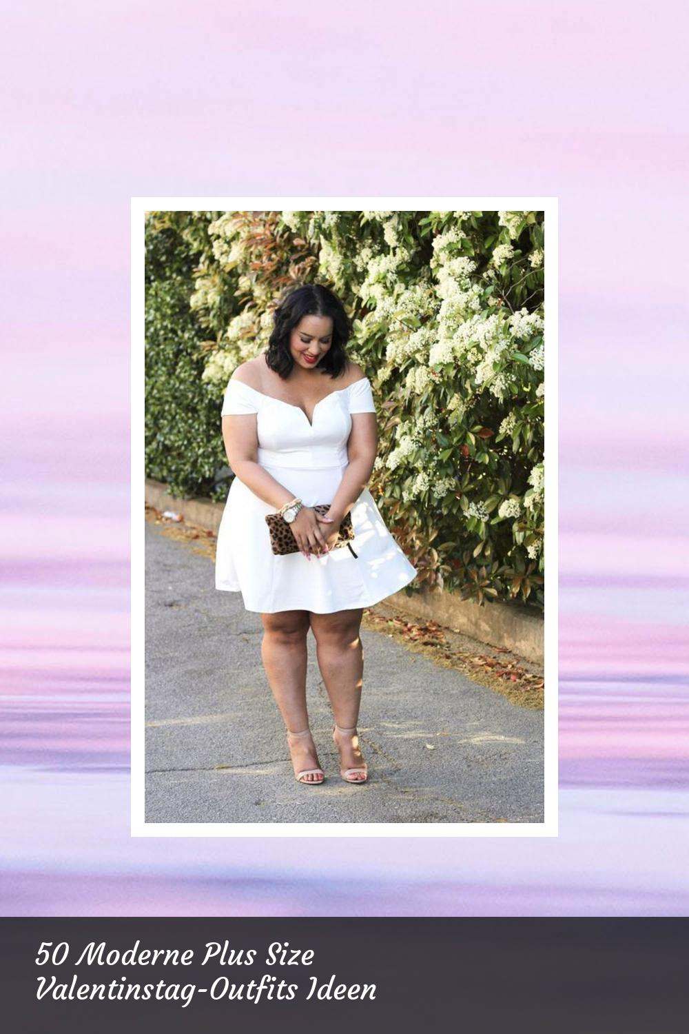 50 Moderne Plus Size Valentinstag-Outfits Ideen 40