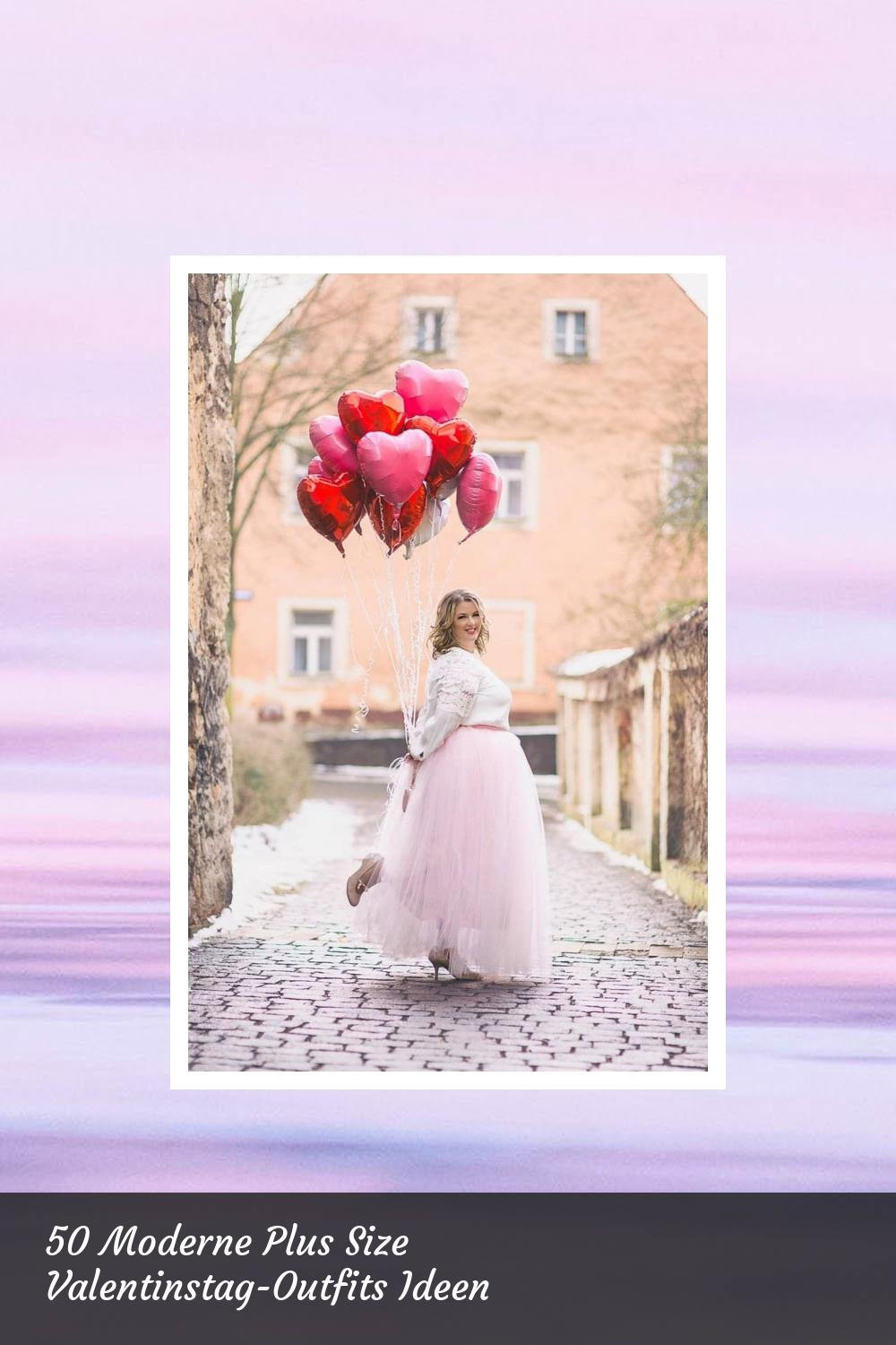 50 Moderne Plus Size Valentinstag-Outfits Ideen 46