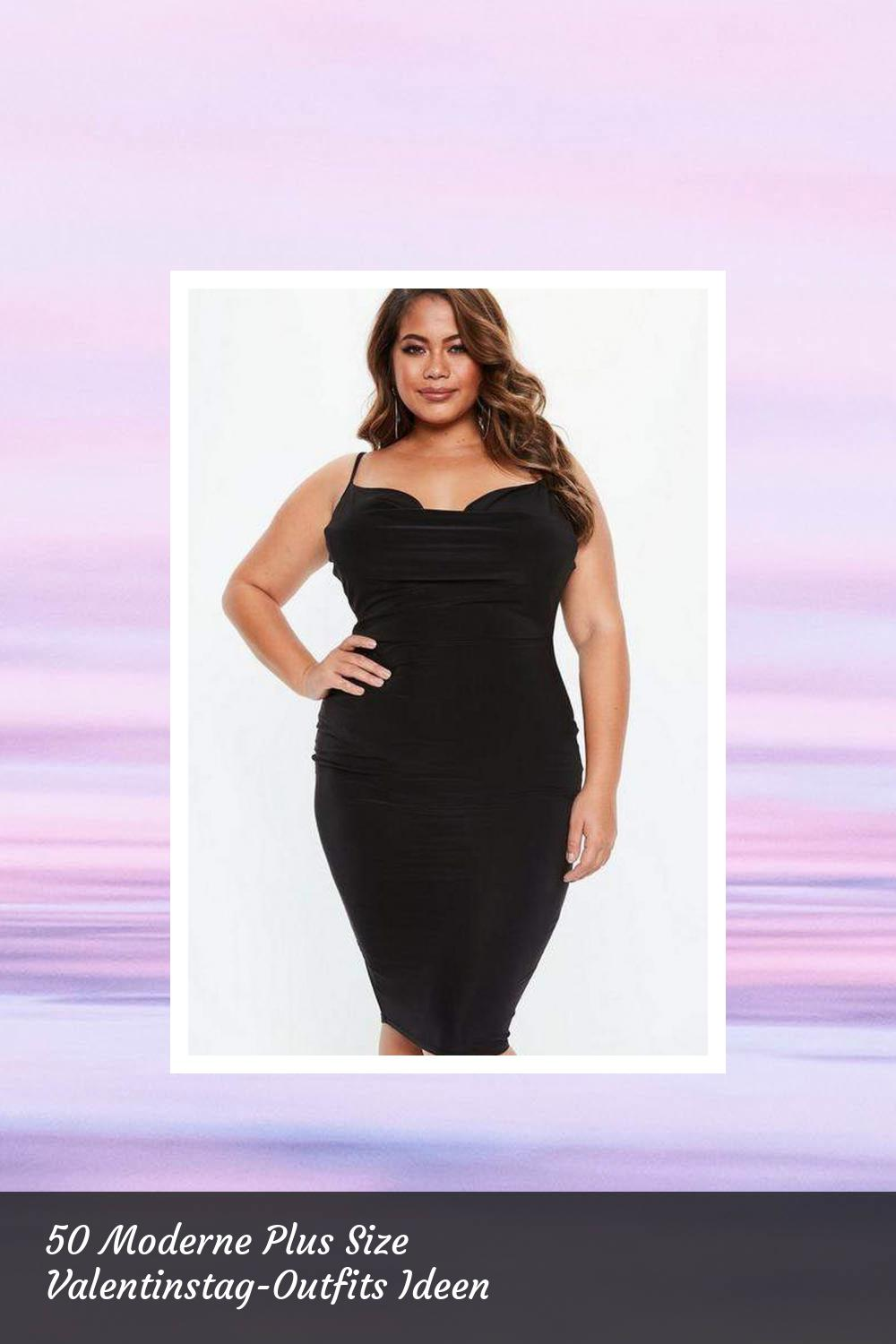 50 Moderne Plus Size Valentinstag-Outfits Ideen 5