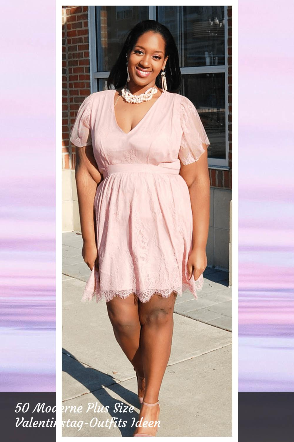 50 Moderne Plus Size Valentinstag-Outfits Ideen 7